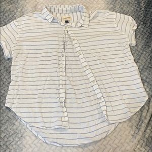 Cute stripped button up